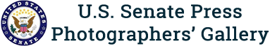 US Senate Press Photographers Gallery logo
